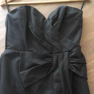 New w/tags H&M strapless black dress size 8